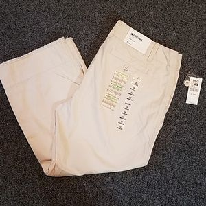 Gap cropped original khaki pants size 12 NWT